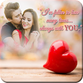 Love Quotes Photo Frame HD