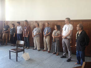 Photo: The teachers are presented