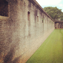 Photo: the outer wall