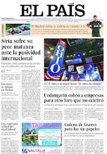 """Photo: Siria sufre su peor matanza ante la pasividad internacional, EE UU llora a su mayor héroe """"de todos los tiempos"""" y Urdangarin cobró a empresas para otro foro que no celebró, en nuestra portada del lunes 27 de agosto http://ep00.epimg.net/descargables/2012/08/27/8f984e43ceb005ab126ba00dc4b8315e.jpg"""