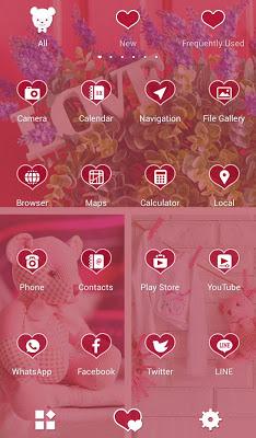 Girly Wallpaper Baby Pink - screenshot