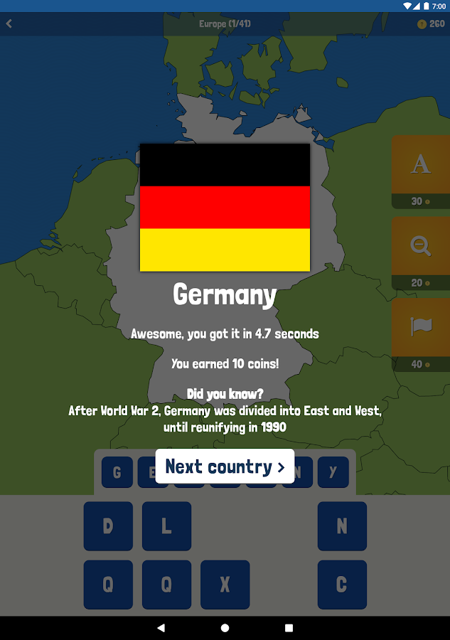 Map Quiz Countries Cities Android Apps On Google Play - Germany map quiz