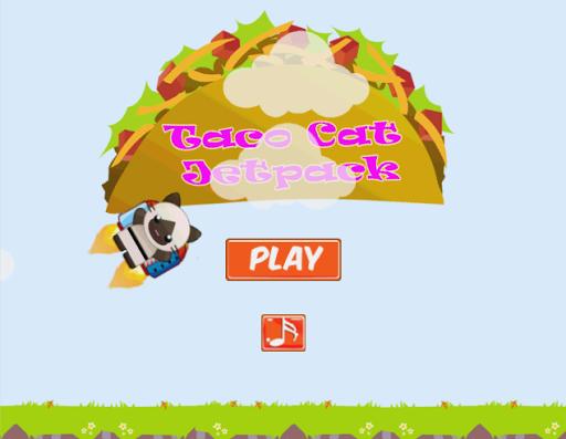 Taco Cat Jetpack Adventure