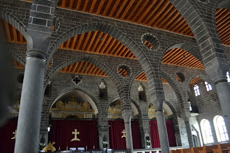 Photo: Inside the Armenian church in Amed city centre