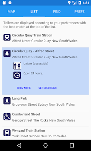 National Public Toilet Map- screenshot thumbnail