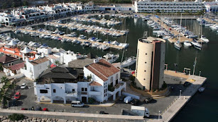 Imagen del Puerto Deportivo de Aguadulce.