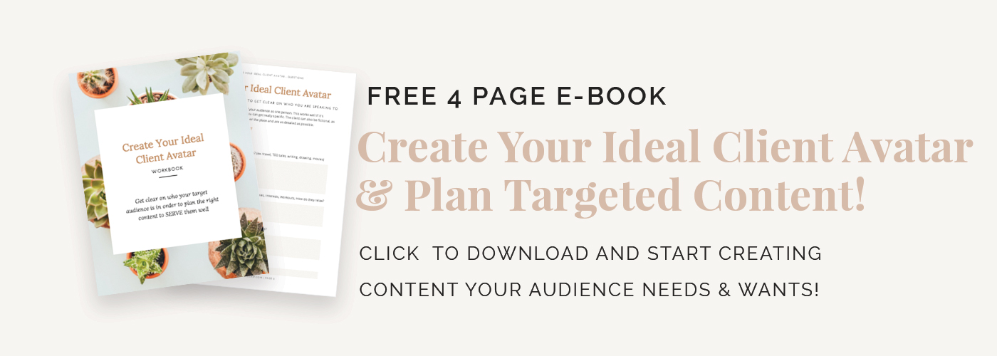 Click here for target audience ebook