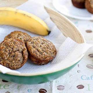 Good for You Honey Banana Flax Muffins