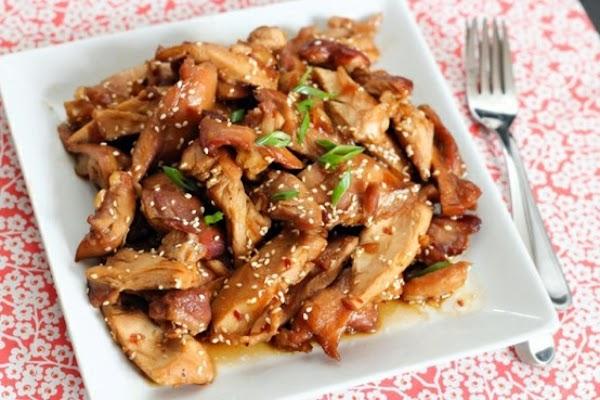 Crockpot Honey Ginger Chicken Recipe