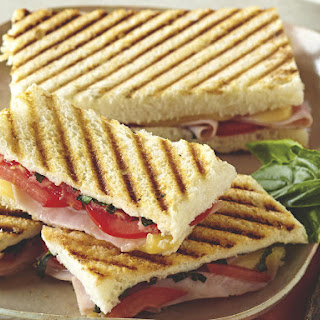 Grilled Ham Caprese Panini Recipe
