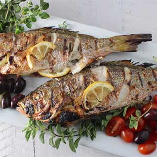 Greek Grilled Fish