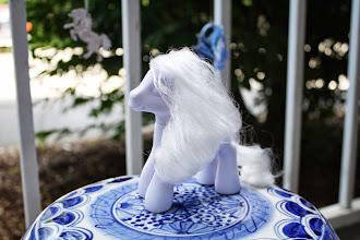 Photo: Blank Pony White