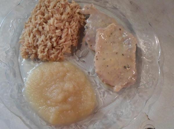 Easy-pork Chop N' Rice Pilaf---by Me!! Recipe