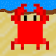 Crab's Invasion 8 bit retro