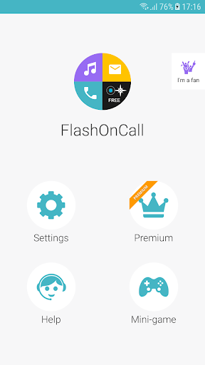 FlashOnCall (call and app) screenshot 6