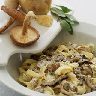 Cheese and Mushroom Pasta Bowl