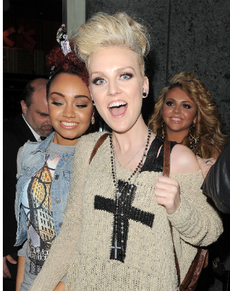 Photo: Perrie from Little Mix and the Cross Necklace