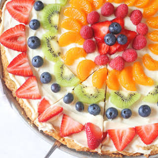 Sugar Cookie Fruit Pizza.