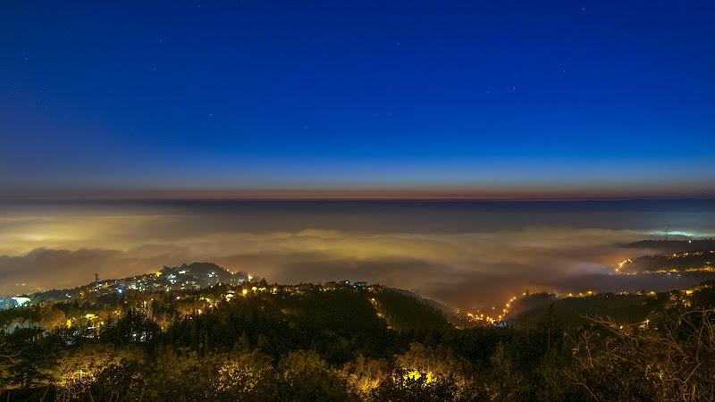 ... sale la nebbia dal mare di Nevio Saule