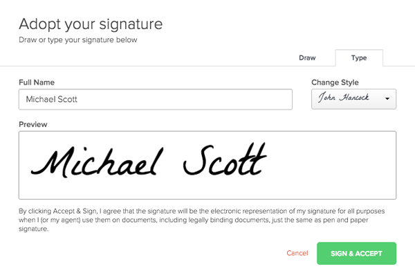 As Soon Someone Signs The Proposal Their Signature Will Be Visible In And It Show A Date Stamp Of When They Signed