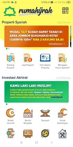Rumahijrah - Bursa Properti dan Investasi Akhirat screenshot 1