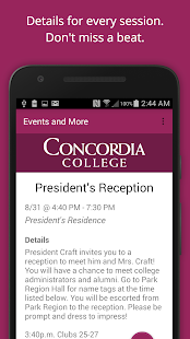 Concordia College Campus Life- screenshot thumbnail