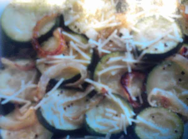 Italian Cheesy Zuccini Recipe