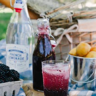 Blackberry Shrub Lemonade.