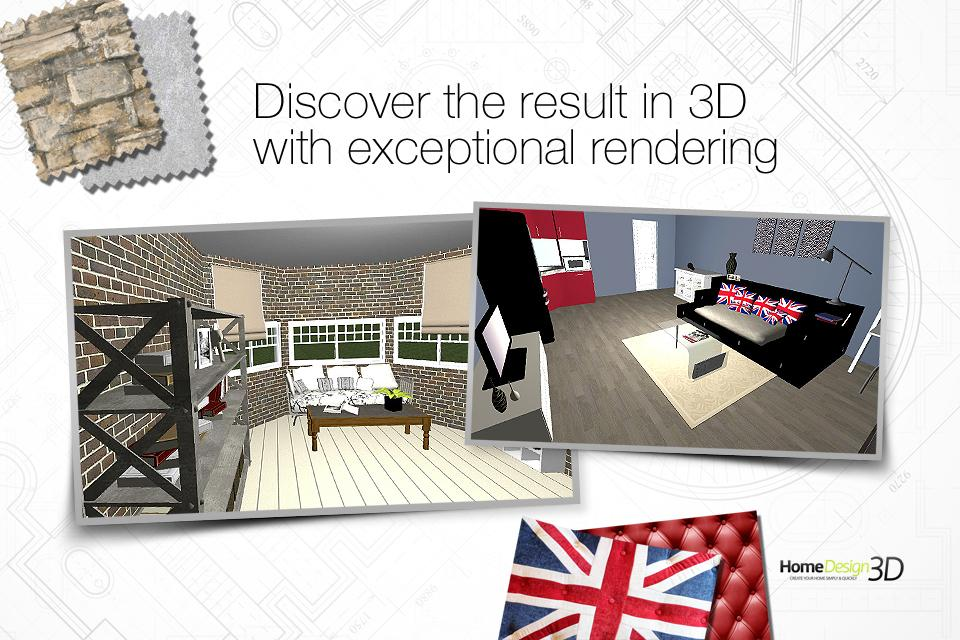 Home Design 3D- screenshot