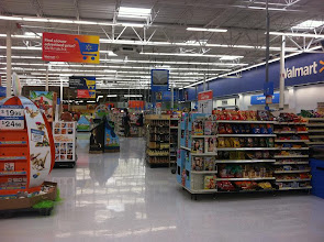 Photo: There isn't a single cashier lane open at this end of the store.  The only open cashier lanes are on the complete other side of the store.  If you park and shop on this side, you use the self-check out or walk all the way across the store and then back again.