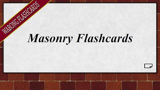 Masonry Flashcards - náhled