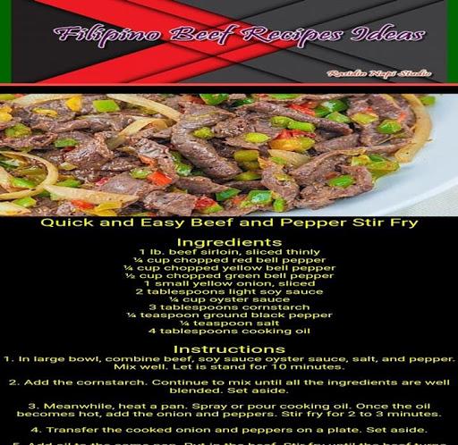 Download Filipino Beef Recipes Offline Free For Android Filipino Beef Recipes Offline Apk Download Steprimo Com
