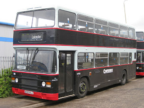 """Photo: The Confidence Olympians Day Out - 16/05/2009 Eighth and final Olympian for the day was B190BLG, another Crosville machine in a fleet which at the time had four of the """"DOG"""" types."""