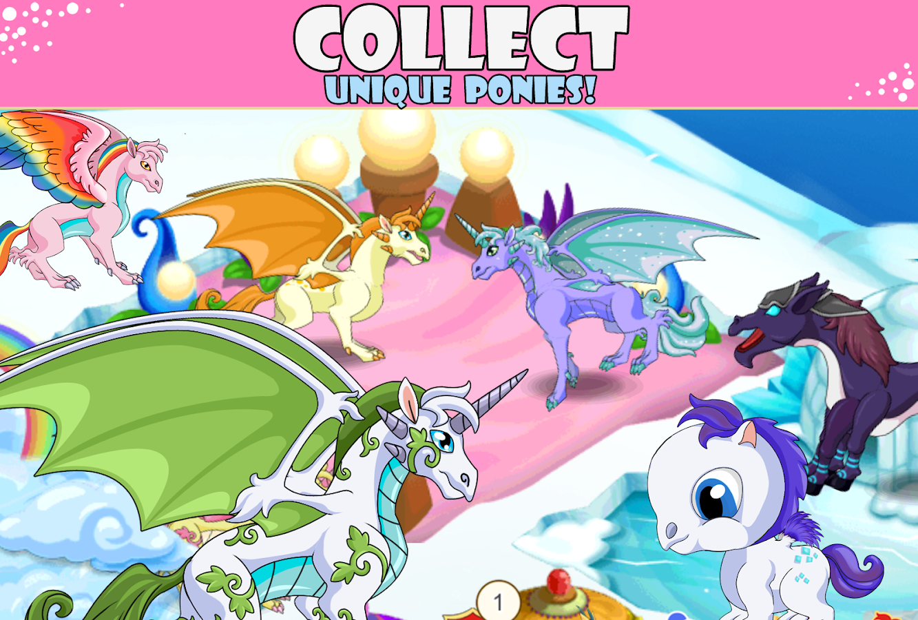 Screenshots of Pony City for iPhone