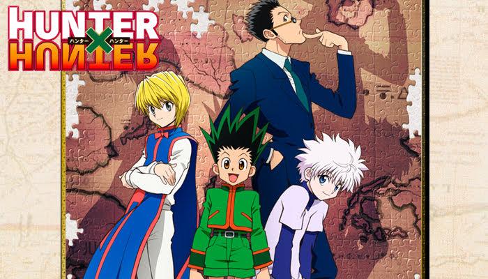 Hunter × Hunter, es una serie de manga escrita e ilustrada por Yoshihiro Togashi.