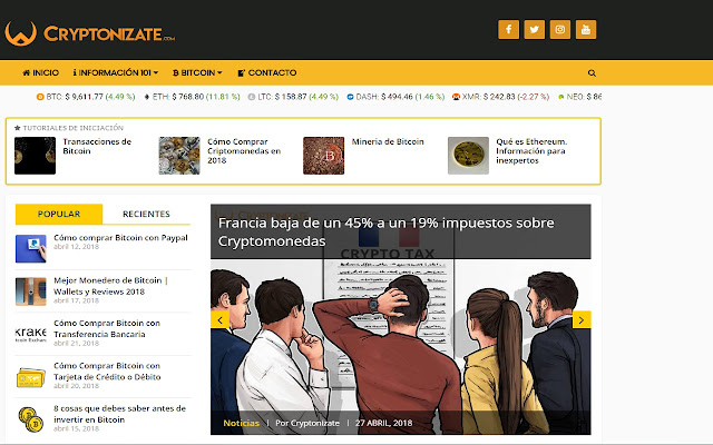 Cryptonizate.com | Información Criptomonedas