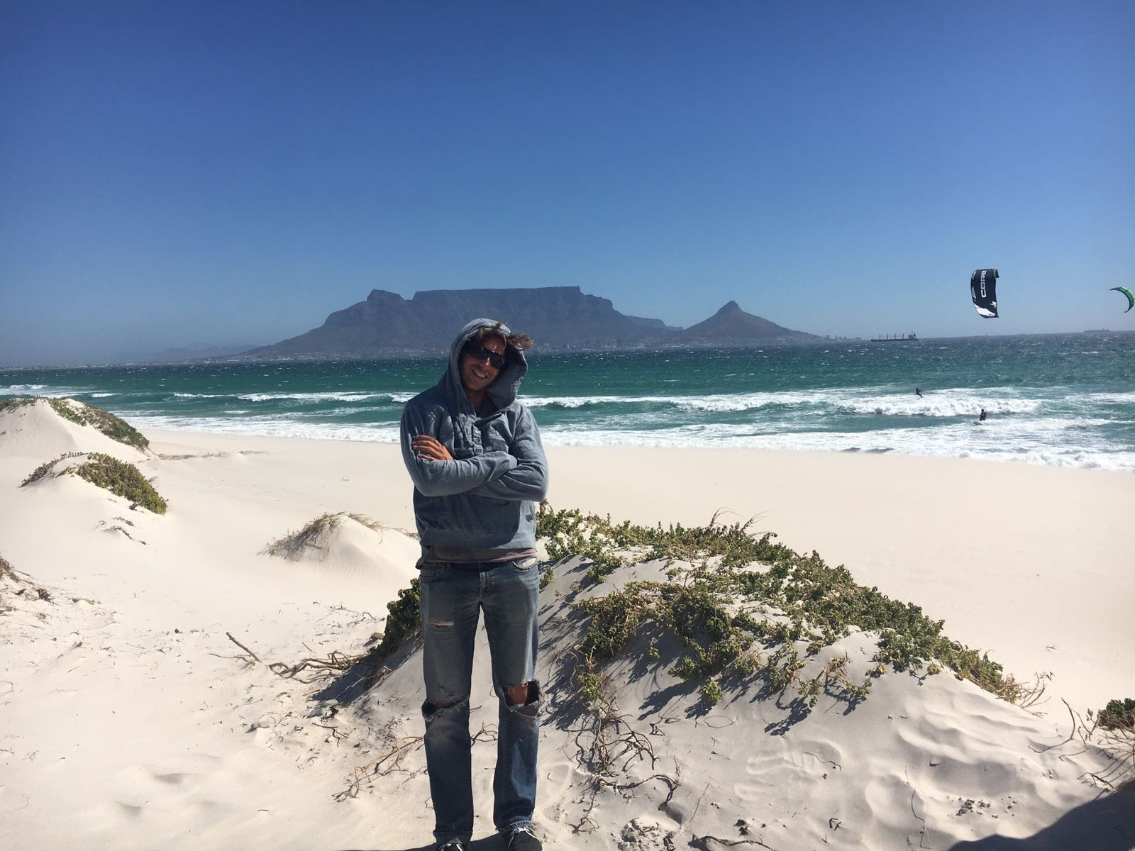 Dolphins Beach in Blouberg