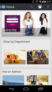 Admire mCommerce- screenshot thumbnail
