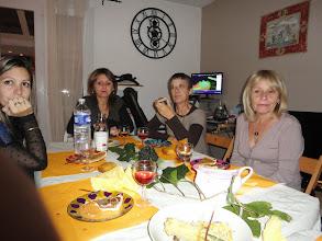 Photo: De gauche à droite : Sabrina, Sylvie, Isabelle, Cathy.