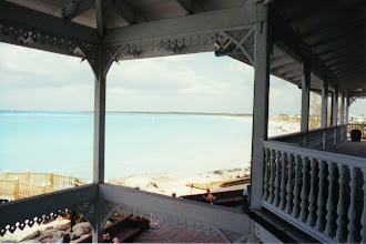"""Photo: #013-Le Club Med """"Columbus Isle"""" dans l'île San Salvador"""