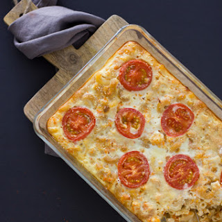 Macaroni Casserole With Veggies And Chicken