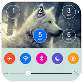 Wolf Keypad Lock Screen