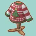 クリスマスなアグリーセーター