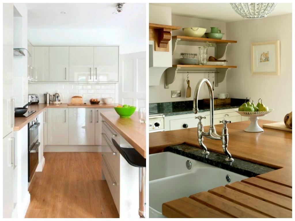 Кухня в цветах: светло-серый, коричневый, бежевый. Кухня в .