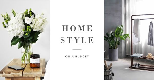 Home Style on a Budget - Facebook Event Cover Template