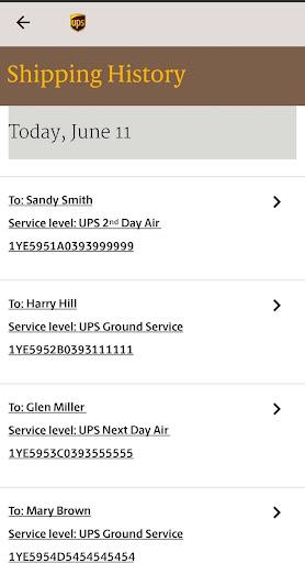 UPS Mobile screenshot 1