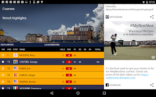 Screenshot of The Open