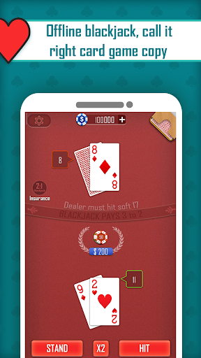 Blackjack 21 1.3 Mod screenshots 2