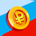 Rouble - idle money game business clicker icon