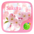 Sakura GO Keyboard Theme mobile app icon